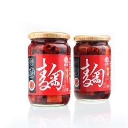 a台湾进口 江记红麴(红曲)豆腐乳 370g辣豆瓣/酒酿/芋头/梅子