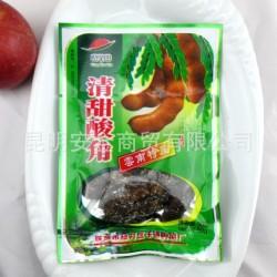 清竹林清甜酸角50克 云南特产休闲零食品罗望子酸角糖 批发