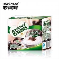 批发招代理新加坡苏卡咖啡 192g摩卡咖啡速溶饮料三合一 醇香略苦
