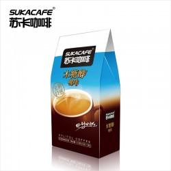 新加坡苏卡咖啡 80g木糖醇咖啡 三合一速溶咖啡 低热量无糖食品