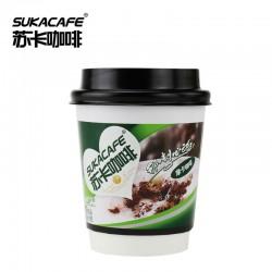 苏卡咖啡 16g手拿摩卡咖啡 速溶咖啡粉杯装 网吧饮品店专供饮料