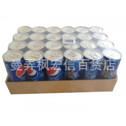 泰国进口饮料 泰国百事可乐 长拉罐 24听/件 大量批发