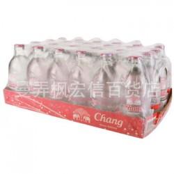 泰国进口 大象牌苏打水 无糖苏打水 24瓶/箱 批发
