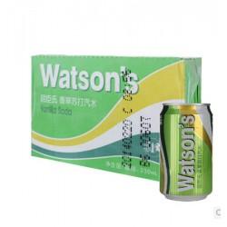 屈臣氏 Watsons 香草苏打 330ml*24/箱