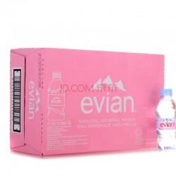 Evian 依云 天然矿泉水 330ml*24 法国原装进口