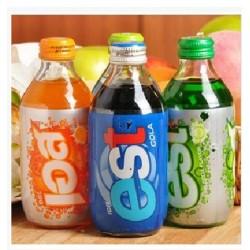 泰国进口est苏打汽水  三种口味 玻璃瓶装 250ml