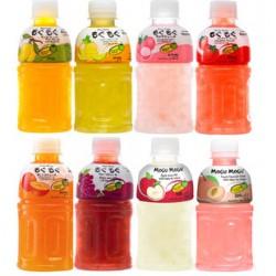 新品热卖 泰国进口磨谷磨谷果味饮料 320ml*24瓶/箱 8种味道