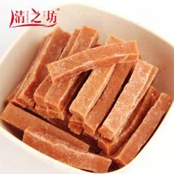 清之坊正品热销高钙琼脂山楂条 酸甜可口蜜饯零食200g/袋 30袋/箱