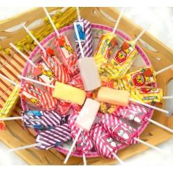 泰国进口儿童棒棒糖水果味冰淇淋棒棒糖24支装 糖果216克*48包/箱