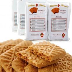 比利时进口 珍爱焦糖饼干 BISCRIPS比和情焦糖饼干好吃 12包/箱