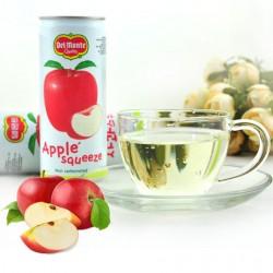韩国lotte/乐天德门特苹果汁 240ml听装 多种口味饮料饮品30听/箱