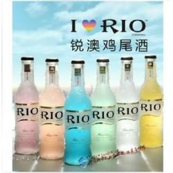 RIO/锐奥 朗姆预调鸡尾酒 瓶装6种口味洋酒 275ml*24瓶