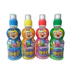 韩国进口 啵乐乐牛奶口味饮料 宝露露儿童饮料果汁 235ml*24瓶