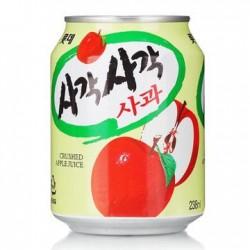 韩国进口 lotte乐天苹果果粒饮料 原味果肉果汁饮品 238ml*12罐