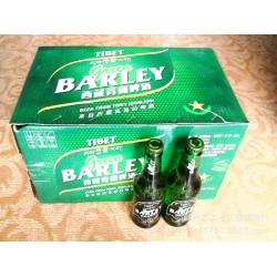 源自西藏,青稞酿造,批量供应330ml瓶装西藏青稞啤酒,量大从优