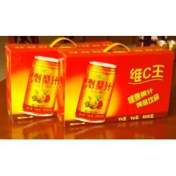 贵州果汁饮料 珍西琦刺梨果汁 送礼礼盒装刺饮饮料310ml*8听/箱