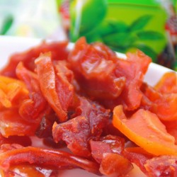 零食批发休闲食品 新鲜野木瓜干 量大从优 1箱*10斤