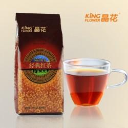 奶茶专用红茶原料批发 印度阿萨姆红茶 晶花经典红茶750g