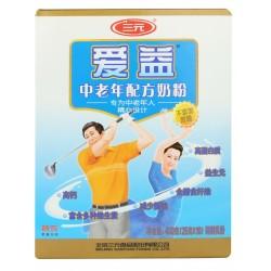 特价中老年配方奶粉 400g袋装 专为中老年设计三元爱益奶粉