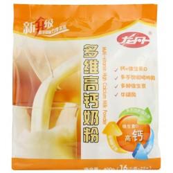 供应龙丹多维高钙奶粉400克 骨骼营养专家袋装奶粉批发 品质保障
