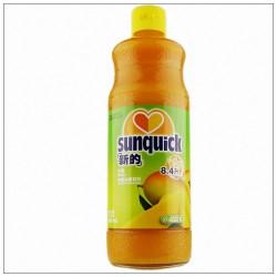 新的芒果汁 浓缩果汁水果饮料\新的芒果味840ML鸡尾酒辅料