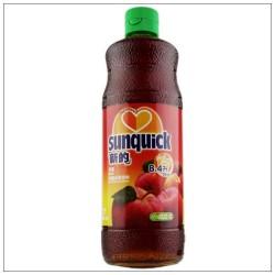 新的苹果汁 浓缩果汁水果饮料\新的苹果味840ML鸡尾酒辅料