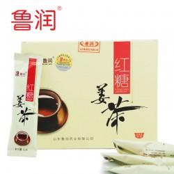 【爆款】新款 冲调饮品鲁润速溶红糖姜茶预防感冒 120g/盒