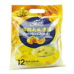 三点一刻台湾进口食品批发 3点1刻田园南瓜浓汤 3.15营养早餐216g