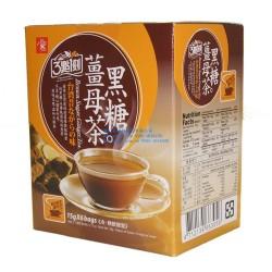 台湾进口饮品批发 3点1刻黑糖姜母茶 三点一刻驱寒养生茶 饮品90g