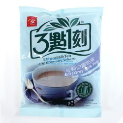 台湾进口食品批发 3点1刻伯爵奶茶 3点1刻袋装奶茶 饮品360g