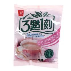 奶茶台湾进口食品批发 3点1刻经典玫瑰花果奶茶 三点一刻奶茶360g