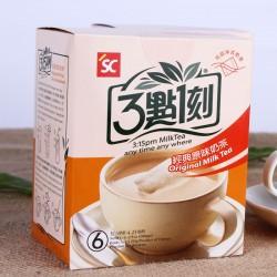 台湾进口饮品批发 3点1刻经典原味奶茶 三点一刻袋装奶茶饮品120g
