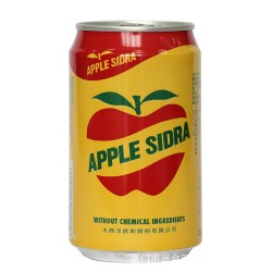 355ml  APPLE SIDRA 大西洋苹果汁 健康绿色好喝