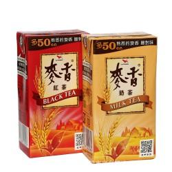 台湾进口食品 300ml麦香奶茶 麦香红茶 休闲食品 熟悉的麦香