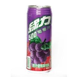 味丹 绿力500葡萄汁 健康绿色好喝