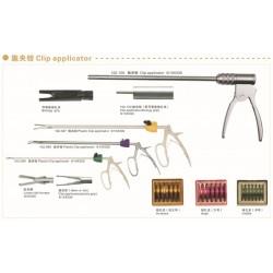 医疗器械公司腹腔镜手术器械:施夹钳(生物施夹钳、塑料施夹钳)