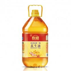 群福 4L*4  特香压榨花生油 厂家自产自销  多类型花生油低价批发