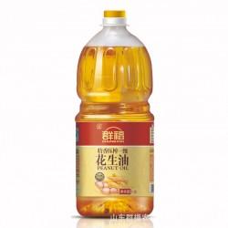 群福特香压榨一级花生油 1.8L*2 桶装更实惠 花生油低价批发
