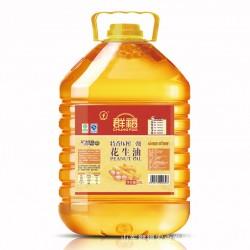 群福 20L 特香压榨一级花生油  厂家自产高品质花生油  健康用油