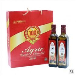 橄榄油礼盒 希腊阿戈利司特级初榨橄榄油 食用油批发