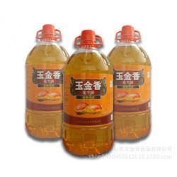 食用油/花生油5L/山东玉金香压榨一级花生油/纯花生油厂家直销
