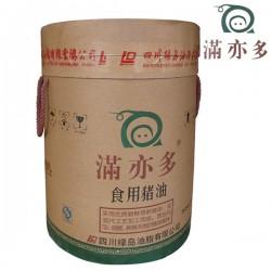 满亦多国标二级食用猪油25kg批发 成都精炼精制猪油批发