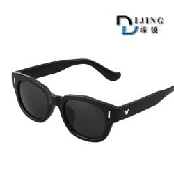 厂家批发爆款小框男女太阳镜 时尚达人百搭墨镜 潮流5041太阳镜
